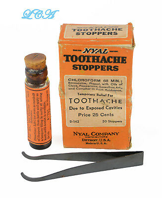 NYAL Tooth Ache stopper od bottle IN box etc