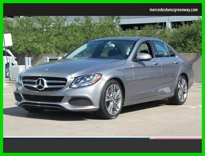 Mercedes-Benz C-Class C 300 2015 C 300 Used Certified Turbo 2L I4 16V Automatic Rear Wheel Drive Sedan