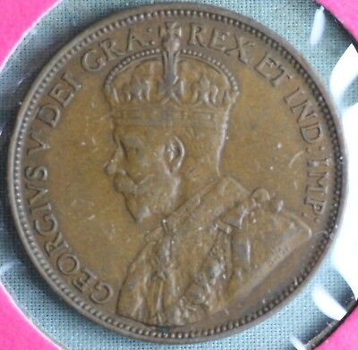 1920 Canada Large Cent~ Combined S. & H.