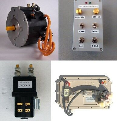 Complete Electric Car Conversion Kit, EV Conversion, Highway Capable Under $3000