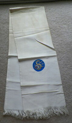 ORIGINAL WWII THEATER MADE US AIR CORPS 5th AIR FORCE SILK PILOT SCARF