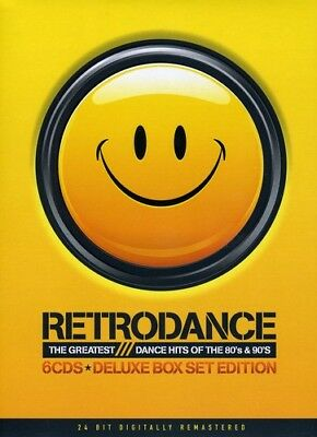 Retrodance Greatest Dance Hits of the 80's and 90's 80s 90s (New Music 6 x CD)
