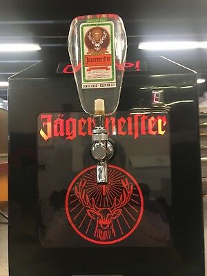 JAGERMEISTER JEMUS SHOT MACHINE with TAP HANDLE TESTED ST3 ST3013191