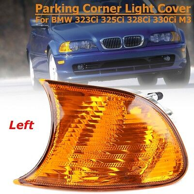 Front Left Parking Corner Lamp Amber Light For BMW E46 323Ci 325Ci 328Ci 330 M3