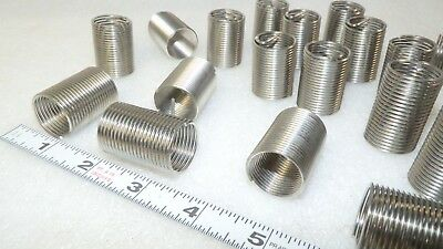 """( 20 ) pieces thread repair Inserts 3/4"""" - 16 with tang  HeliCoil 1191-12CN1500"""