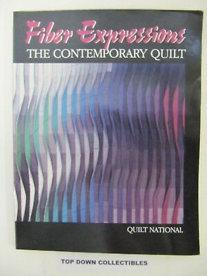Fiber Expressions The Contemporary Quilt  Quilt National  1985