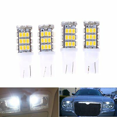 4x Car T10 42 smd LED 1206 Light 42smd w5w 12v Tail Parking White Interior Wedge