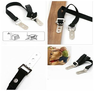 Hot Anti-tip For TV Furniture Straps Anchor Baby/Child Safety Proofing