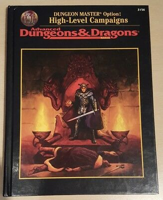 ++ High-Level Campaigns ++ AD&D 2. Edition 2e, Advanced Dungeons & Dragons
