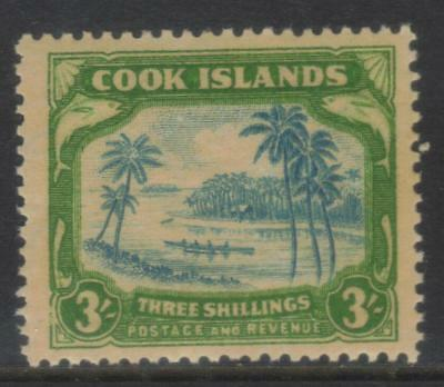 Cook Islands 1938 Defins Sg129 Mh Cat £65