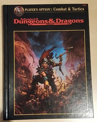++ Options: Combat & Tactics ++ AD&D 2. Edition 2e, Advanced Dungeons & Dragons