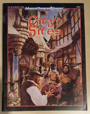 ++ City Sites  ++ AD&D 2. Edition 2e, Advanced Dungeons & Dragons