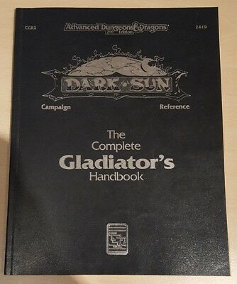 ++ The Complete Gladiator's Handbook  ++ AD&D 2. Edition 2e,Dungeons & Dragons