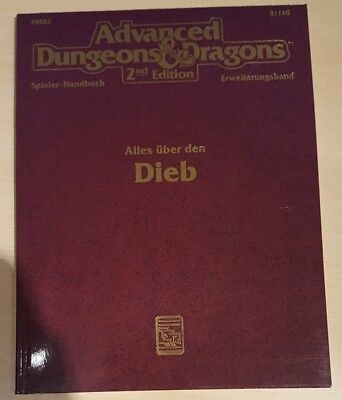 ++ Alle über den Dieb ++ AD&D 2. Edition 2e, Advanced Dungeons & Dragons