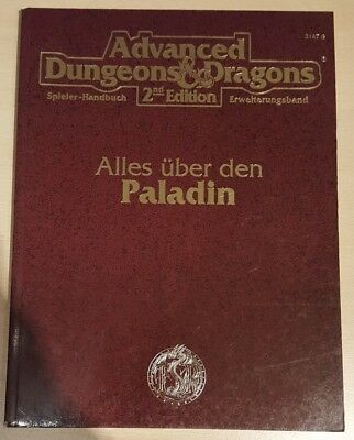 ++ Alle über den Paladin ++ AD&D 2. Edition 2e, Advanced Dungeons & Dragons