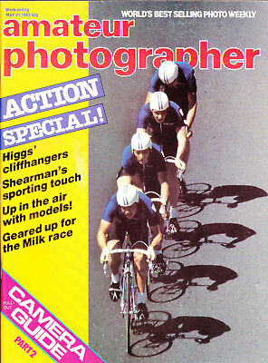 AP magazine tested  Contax 137 MA Quartz & Zeiss 45mm F2.8    21st  May  1983