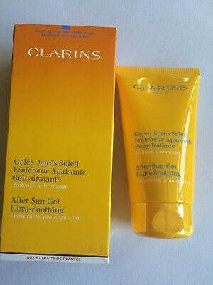 Clarins After Sun Ultra Soothing Gel 150ml BOXED & SEALED
