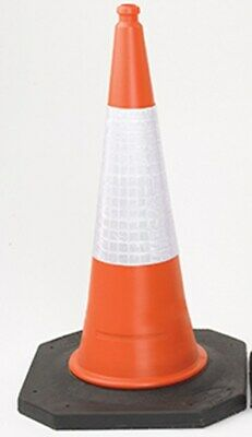 New JSP Navigator 75cm Traffic Cone 2-Piece Heavy Duty Quantity Choice.....
