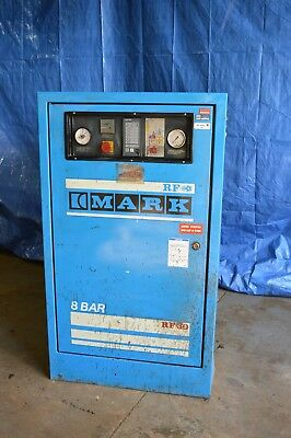 MARK RF 30 Compressor AND BROOMWADE Dryer Sand Shot Blasting Industrial Workshop