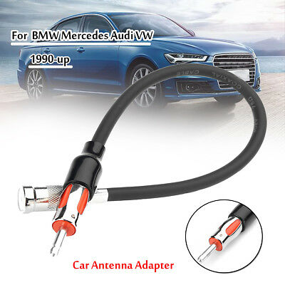 Car Radio Stereo Antenna Adapter for 1973-2011 Audi BMW VW Mercedes
