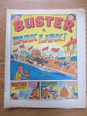 Buster Vintage Old UK Paper COMIC  17 November 1979 Original Birthday Gift