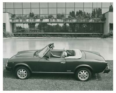 1984 Fiat Pininfarina Spider Europa Automobile Factory Photo ch3749