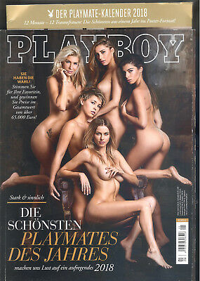 Playboy allemand 01/2018 & son calendrier