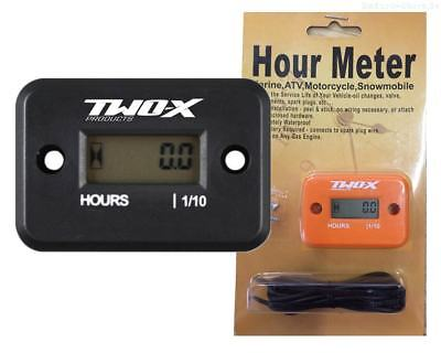 TWO-X Betriebsstundenzähler Hour Meter Enduro MX Motocross Solid orange