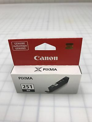 Genuine Canon CLI-251bk CLI251 BK Black Ink Cartridge for ip7220 ip8720 ix6820