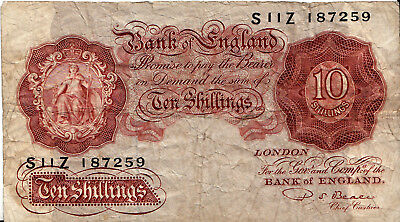 LANZ 10 Shillings Bank of England 1928-48 Fine ÐIVR16