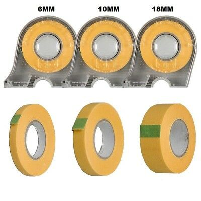 TAMIYA Masking Tape 6mm 10mm 18mm With Dispenser Or Refills Choose your Size