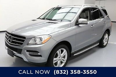 Mercedes-Benz M-Class ML 350 4MATIC Texas Direct Auto 2014 ML 350 4MATIC Used 3.5L V6 24V Automatic AWD SUV Premium