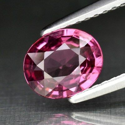 1.05ct 7x6mm Oval Natural Pink Spinel, M'GOK