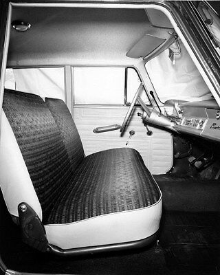 1962 AMC Rambler Classic Interior Factory Photo cb1105