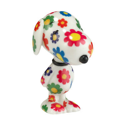 Peanuts Snoopy By Design Flower Power Pup Porcelain Figurine 4030871 New Hippie