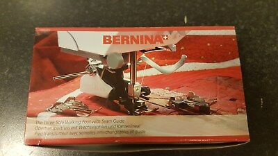 Bernina Three Sole Walking Foot With Seam Guide