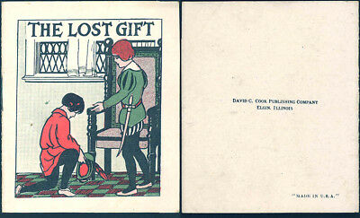 Old Cracker Jack Pop Corn Confection Advertising The Lost Gift Toy Prize Booklet