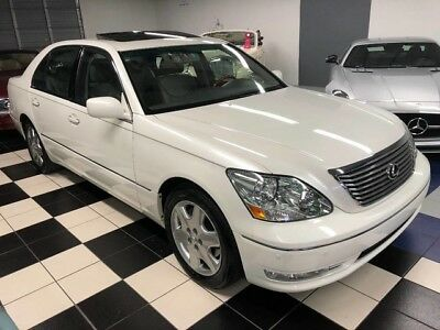 2004 Lexus LS ONLY 47K MILES - ONE OWNER - CERTIFIED CARFAX OUTSTANDING CONDITION - GORGEOUS COLOR COMBINATION