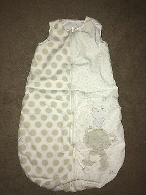 Mothercare 6-18 Month 2.5 Tog Bear And Me Sleep/grow Bag