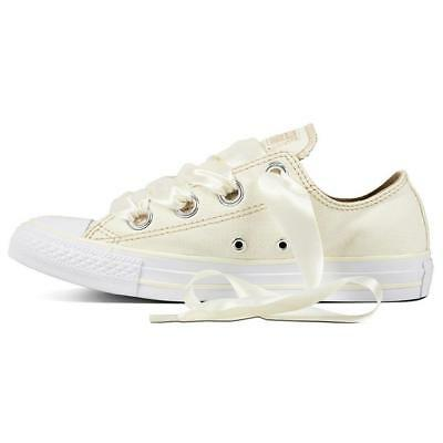 Converse Chucks CREMA 560659c Chuck Taylor All Star Big eyelets OX TG. 38