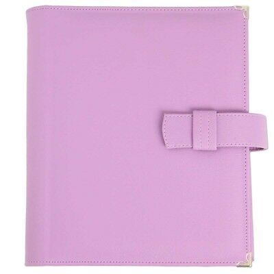 Lilac leatherette Watchtower Service Folio for Jehovah's Witnesses - D1