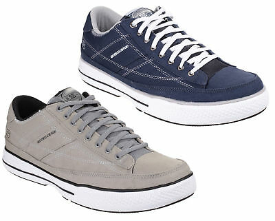 Skechers Arcade Chat MF Mens Canvas Memory Foam Classic Trainers Shoes UK6-12