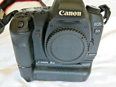 Canon 5d Mk II With BG-E6 Battery Grip