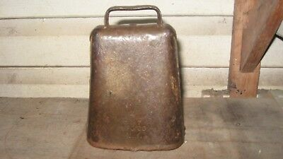 Vintage Cow Bell Stamped 4  R&e Mfg Co. Ny.