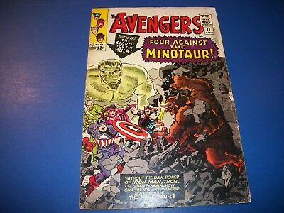 Avengers #17 Silver Age Hulk Quicksilver GVG Wow