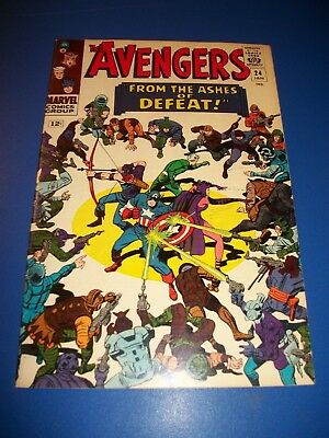 Avengers #24 Silver Age Quicksilver Scarlet Witch FVF Beauty