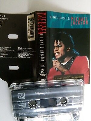 Michael Jackson - Motown's Greatest Hits - MC - Musikkassette - Tape - Cassette