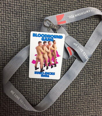 Bloodhound Gang - VIP Backstage Artist Pass - Euro Dicks Tour 2006 - Pro 7