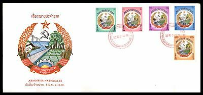 Armoiries Nationales Combination Cachet On Sealed Fdc Sc 272-76