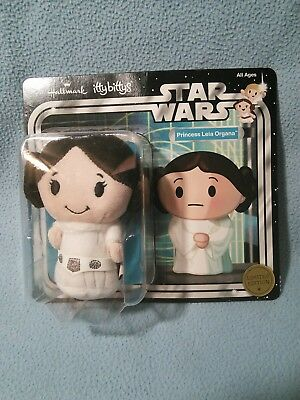 Disney Star Wars Princess Leia Organa Hallmark itty bittys Plush Doll Limited Ed